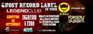 I Niamh tornano on stage al Legend Club di Milano