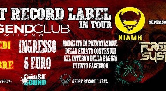 I Niamh tornano on stage al Legend Club di Milano